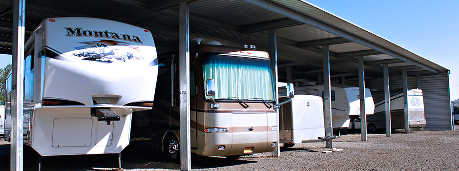 We Provide Covered And Outside Rv Storage